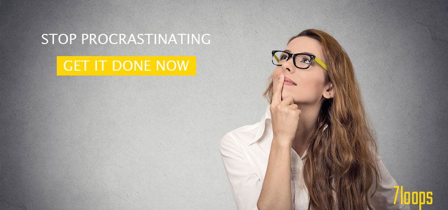 How to stop procrastinating and get things done now