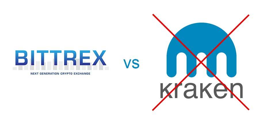 bittrex vs kraken