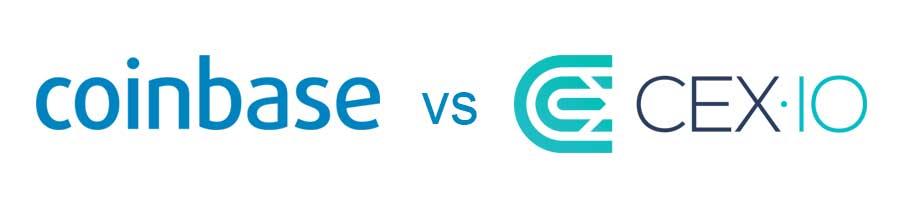 coinbase vs cex.io